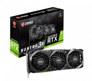 Karta MSI GeForce RTX 3080 Ventus 3x 10GB DDR6 OC