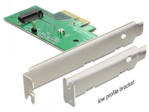 Delock Karta PCI Express - M.2 Key M Internal